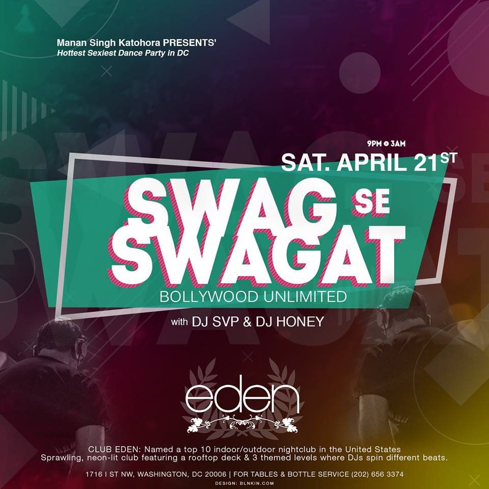 SWAG SE SWAGAT - BOLLYWOOD UNLIMITED with DJ SVP & DJ HONEY (6 Hours of NON-STOP Bollywood Entertainment)