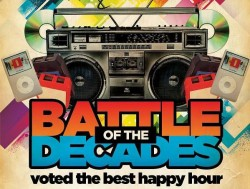 "$1 Drink Fridays: ""Battle of the Decades"" DJ Party"