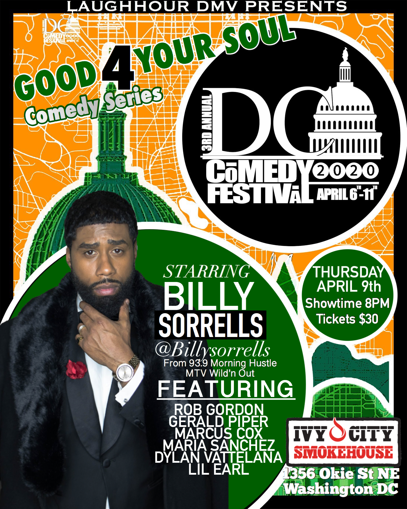 GOOD 4 THE SOUL COMEDY SERIES @DC COMEDY FESTIVAL