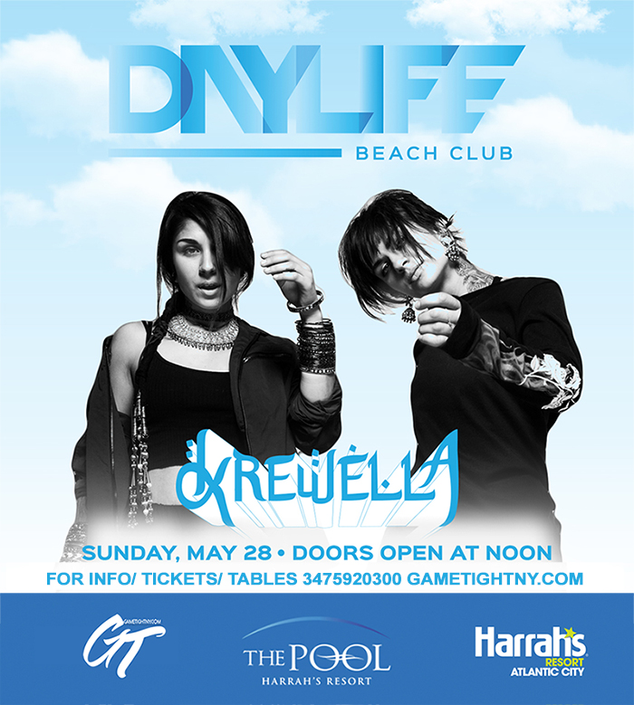 Daylife Beach Club Memorial Day Weekend Krewella live 2017