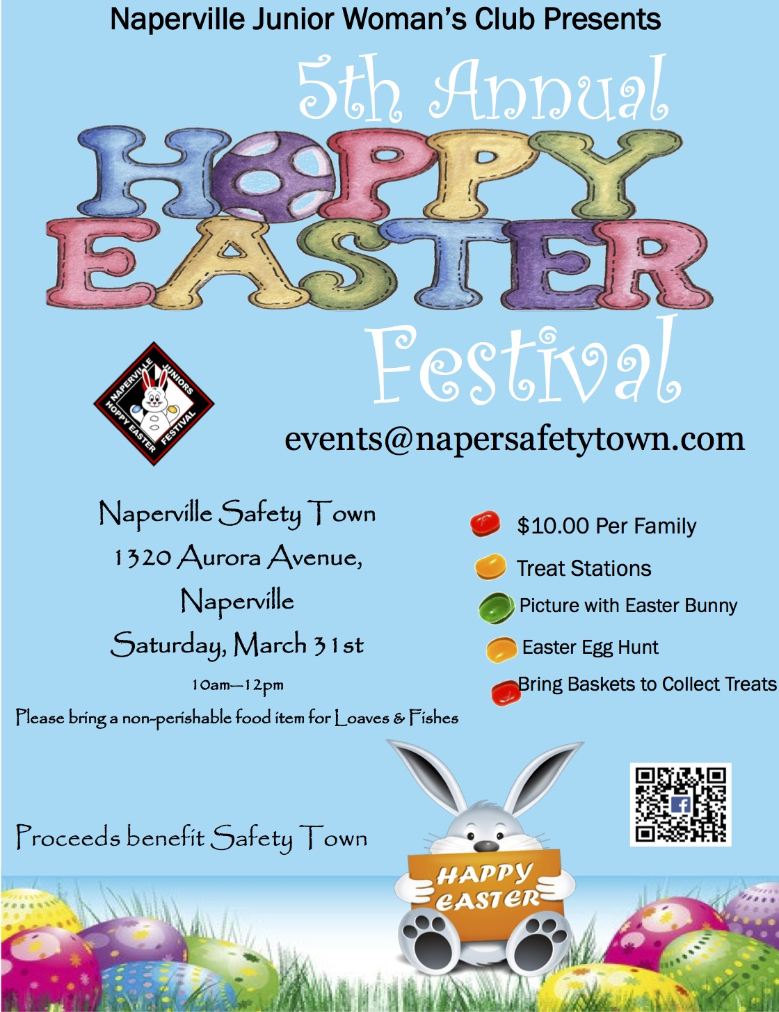 Naperville Junior Woman's Club Hoppy Easter Festival
