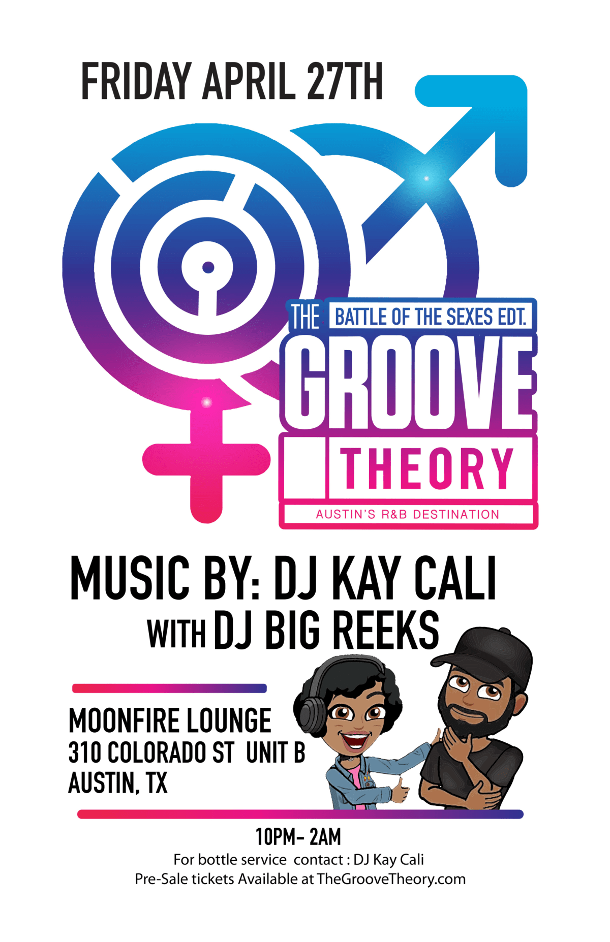 Groove Theory Battle of the Sexes