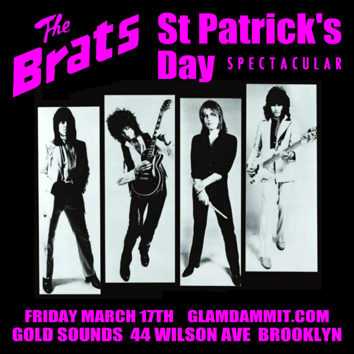 Glamdammit : St Patrick's Day ft. The Brats