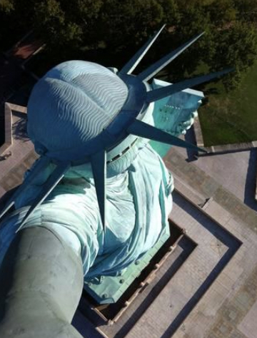 Statue of Liberty Virtual Tour to the Flame