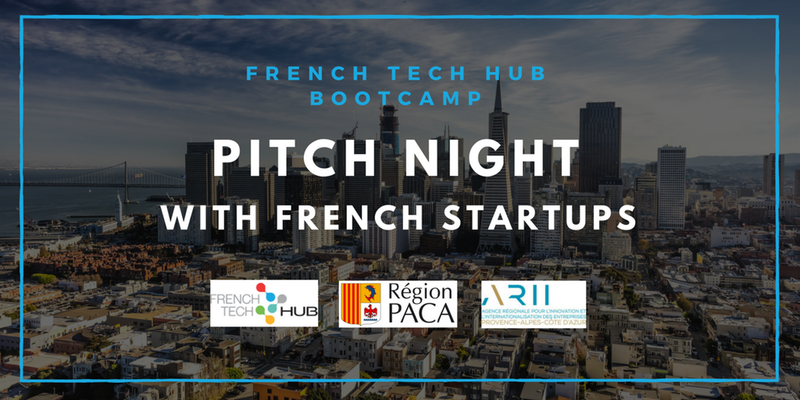 Pitch Night event with French Tech Startups