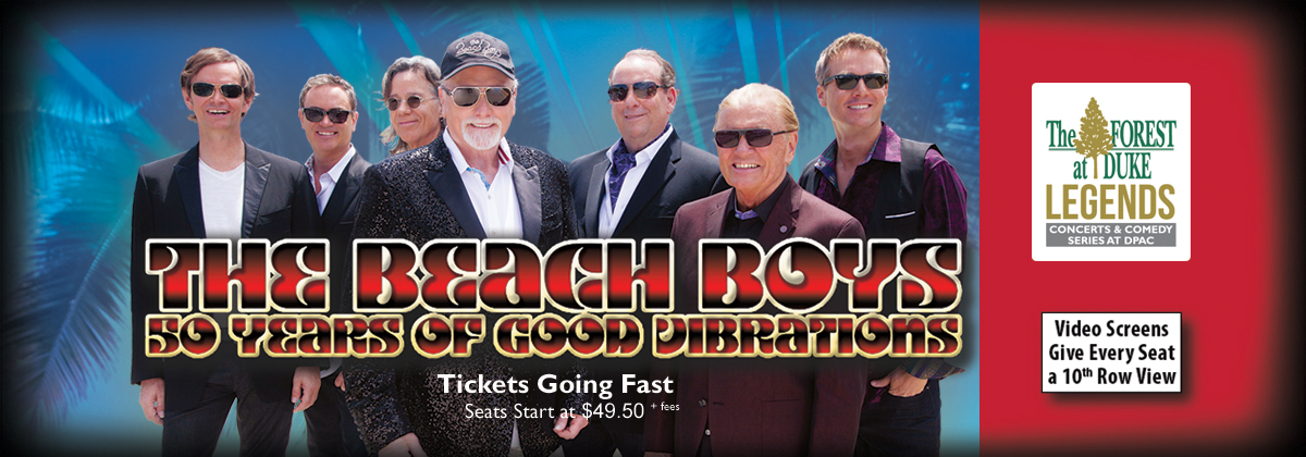 The Beach Boys at DPAC