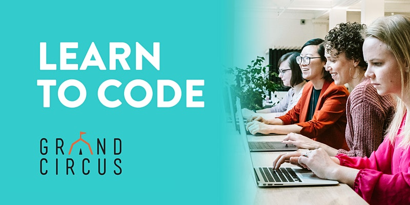REMOTE Free Intro to Coding Workshop with Grand Circus