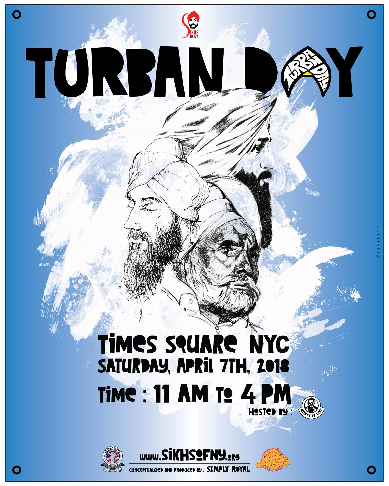 Turban Day 2018 - Times Square - A Vaisakhi Celebration