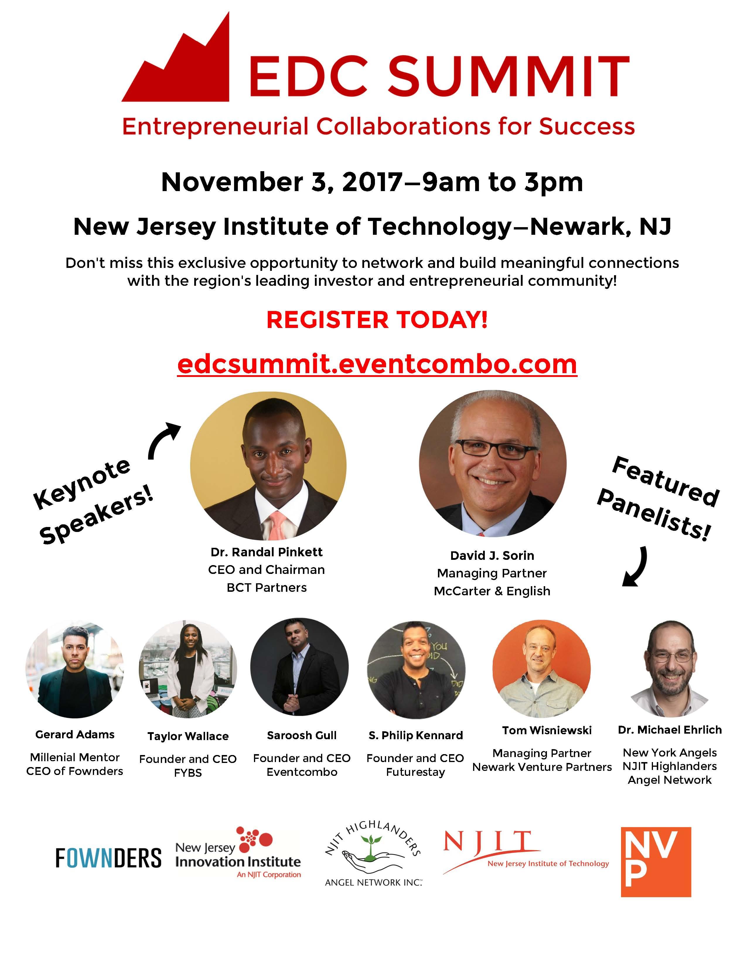EDC Venture Summit 2017 | Eventcombo