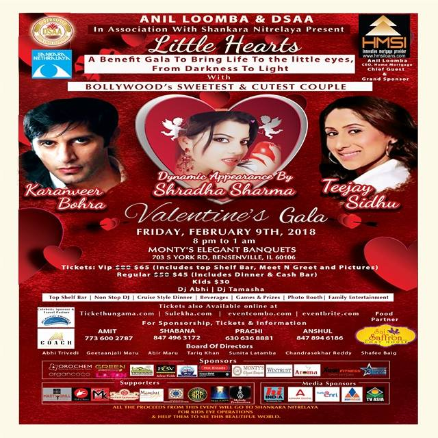 Little Hearts Valentine's Gala with Karanveer Bohra and Teejay Sidhu
