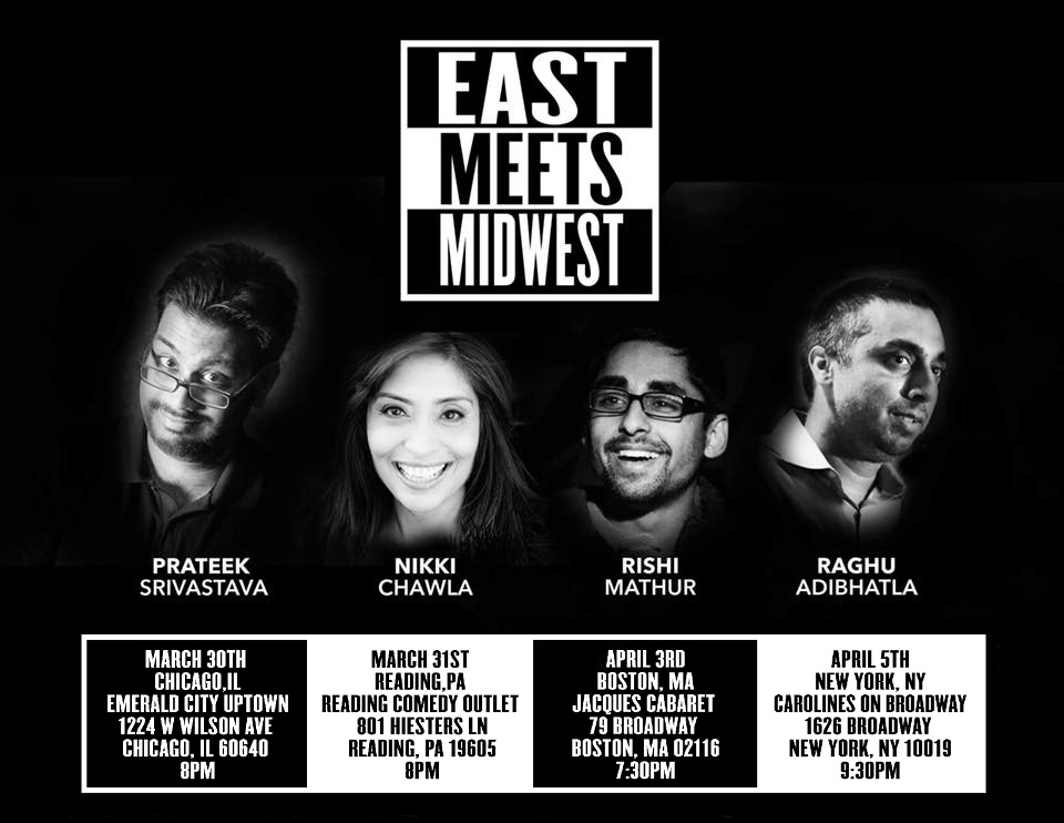 East Meets Midwest Comedy - Chicago