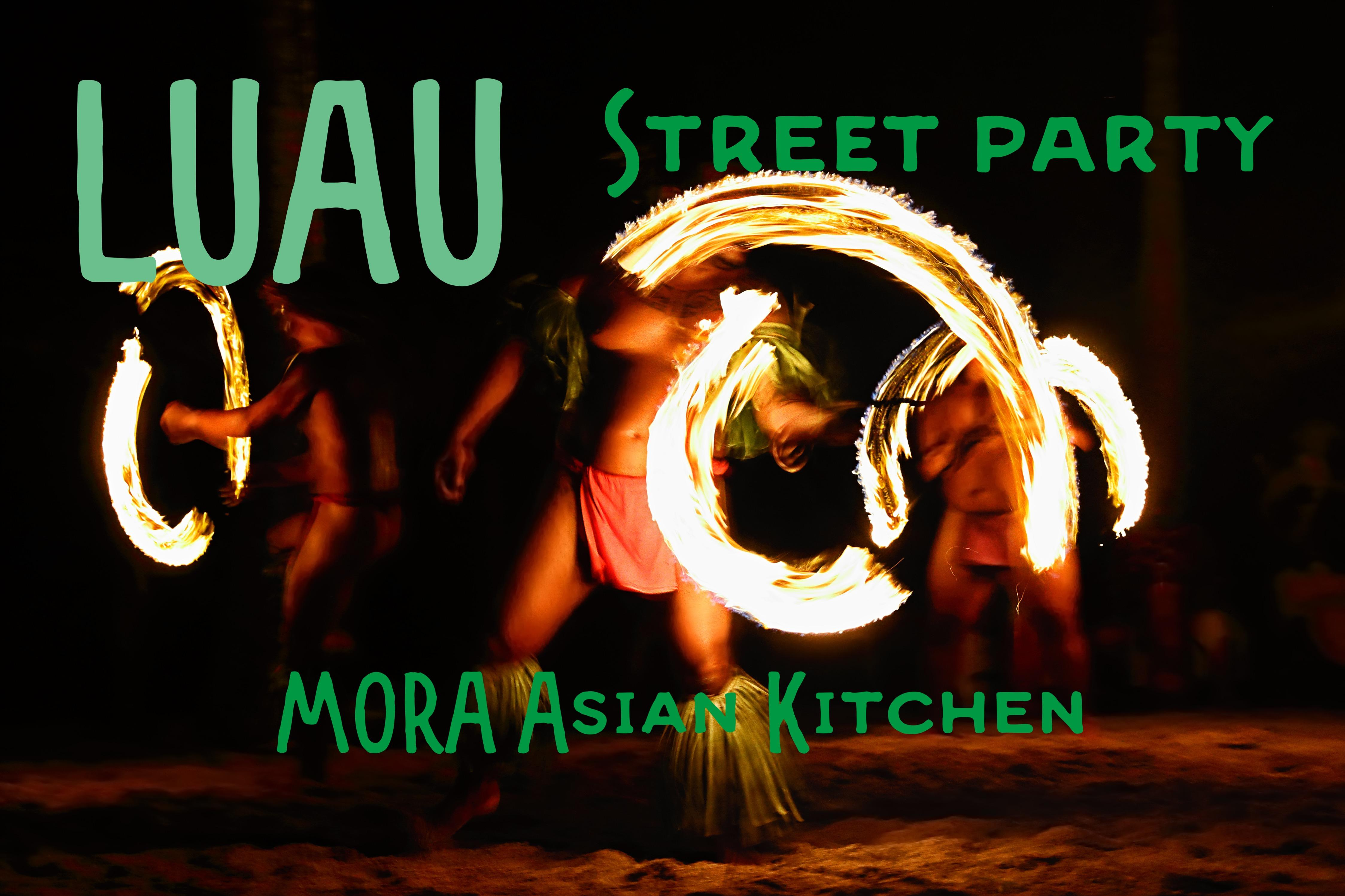 LUAU Street Party by MORA