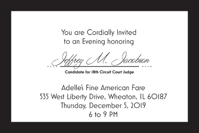 An Evening in Honor of Jeffrey M. Jacobson