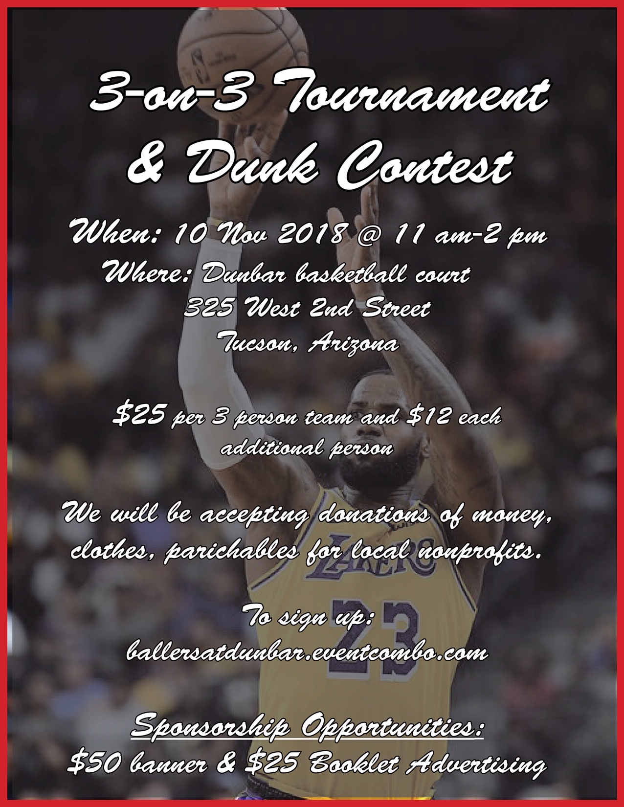 3-on-3 Tournament & Dunk Contest