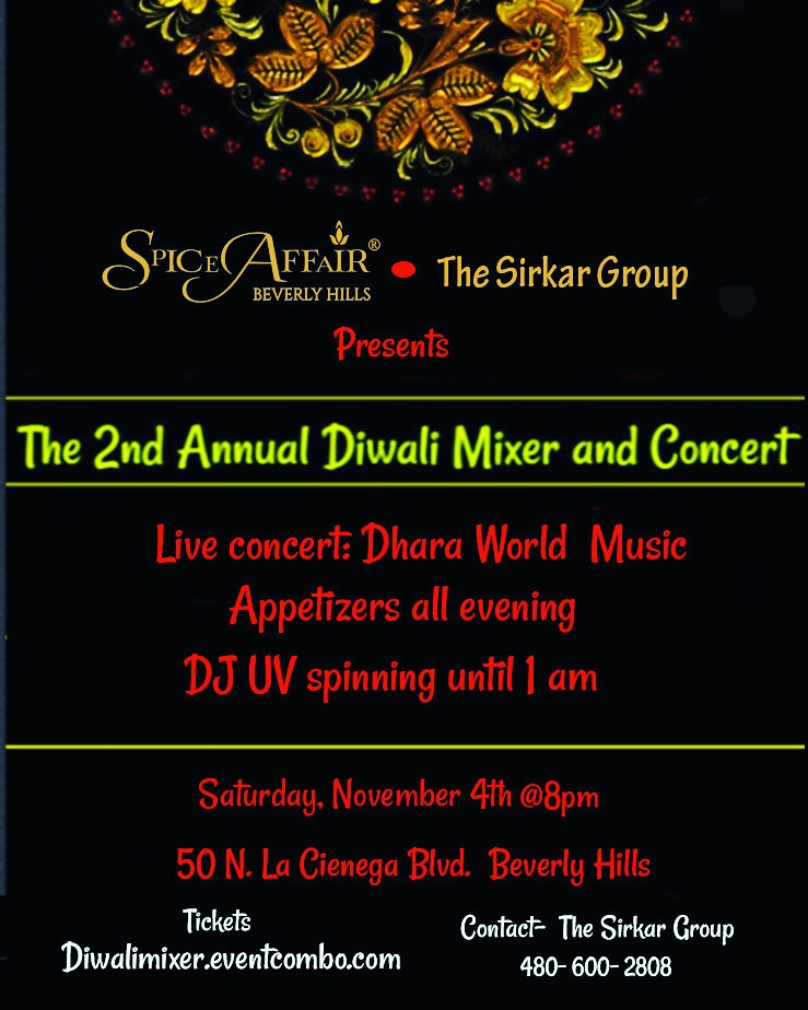 2nd Annual Diwali Mixer, Concert and DJ Night