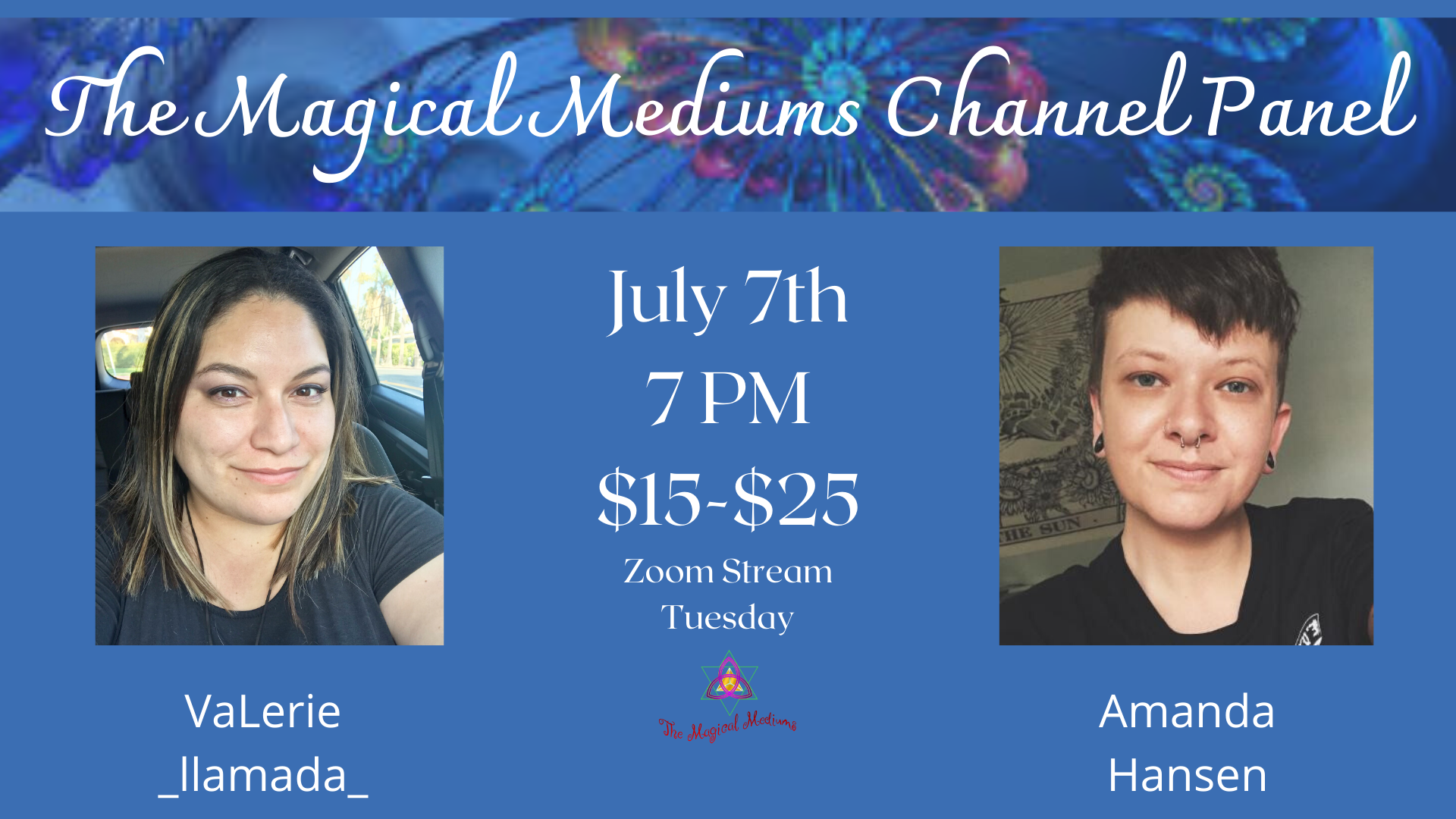 The Magical Mediums Channel Panel Online