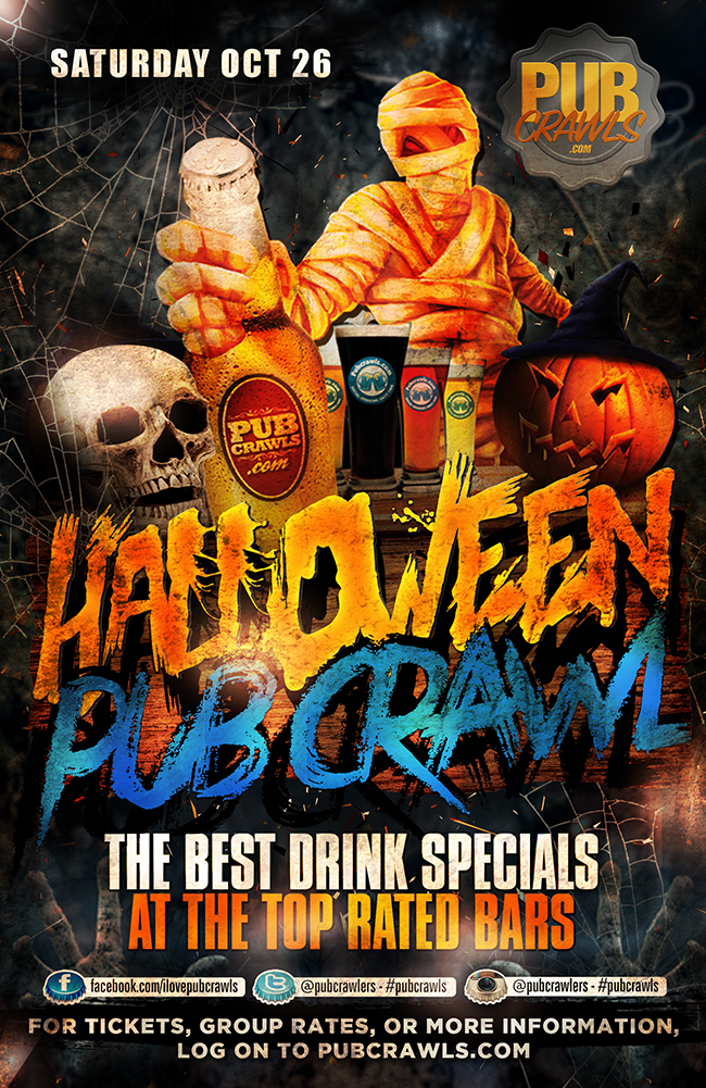 New York City HalloWeekend Fright Night Pub Crawl