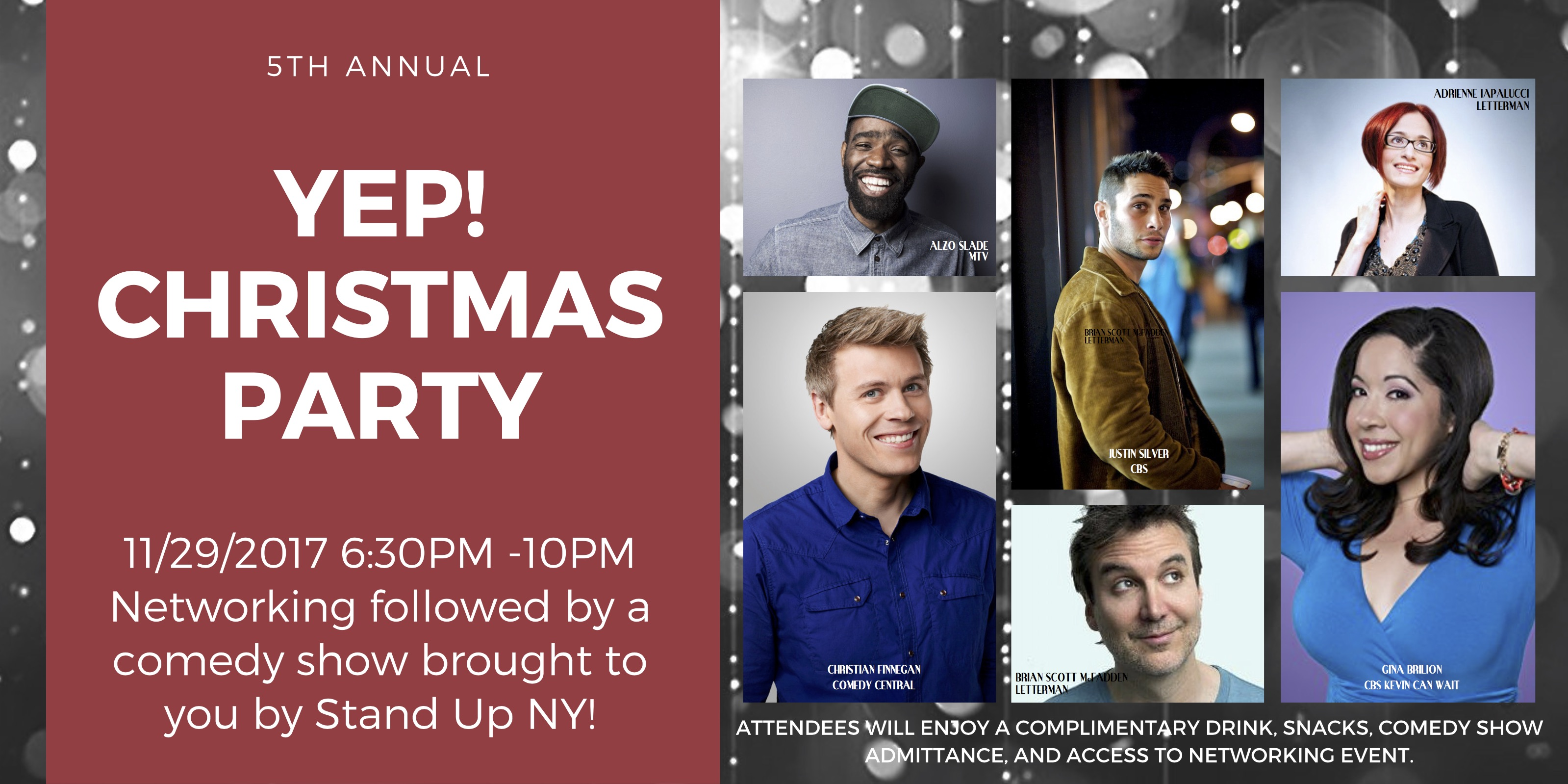 5th Annual YEP! All Industry Christmas Party