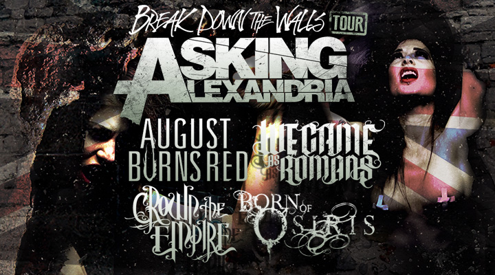 Asking Alexandria at Electric Factory