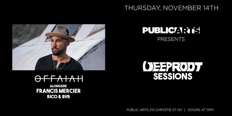 Deep Root Sessions At Public Arts w. Offaiah