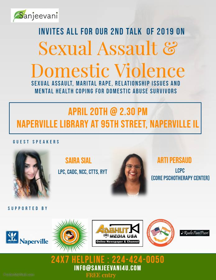 Sanjeevani Talk: Sexual Assault & Domestic Violence