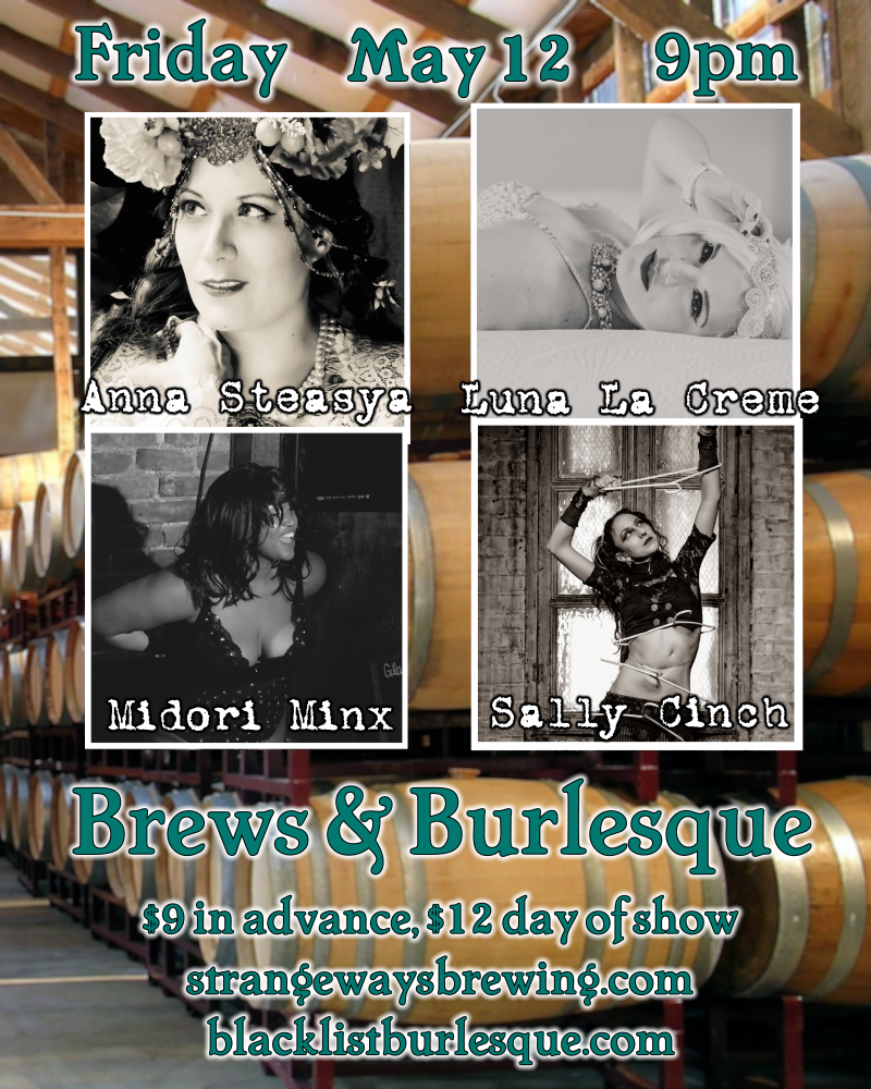 Brews & Burlesque - May Day