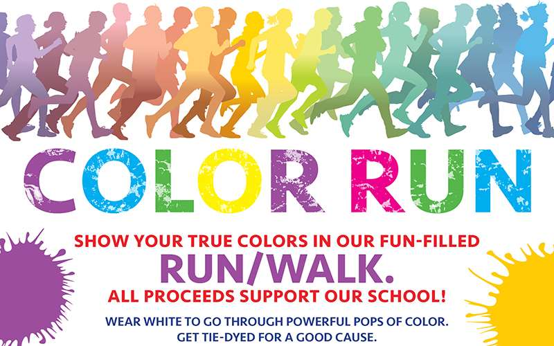 EHS Color Fun Run 2016