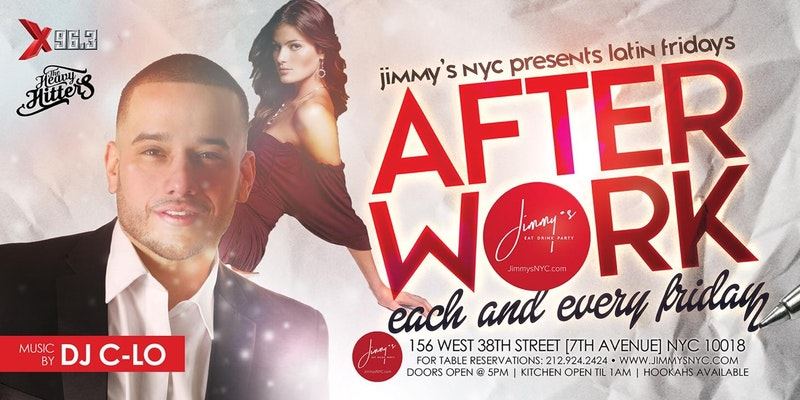 Good Life After Work Friday's at Jimmy's Eat Drink Party