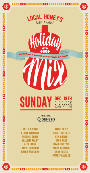 Local Honey's 10th Annual Holiday Mix