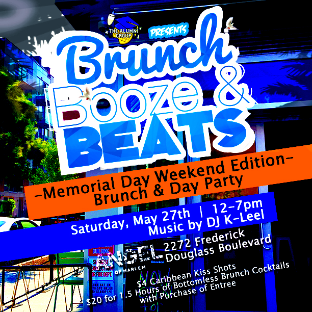 Brunch, Booze, & Beats Memorial Weekend Edition