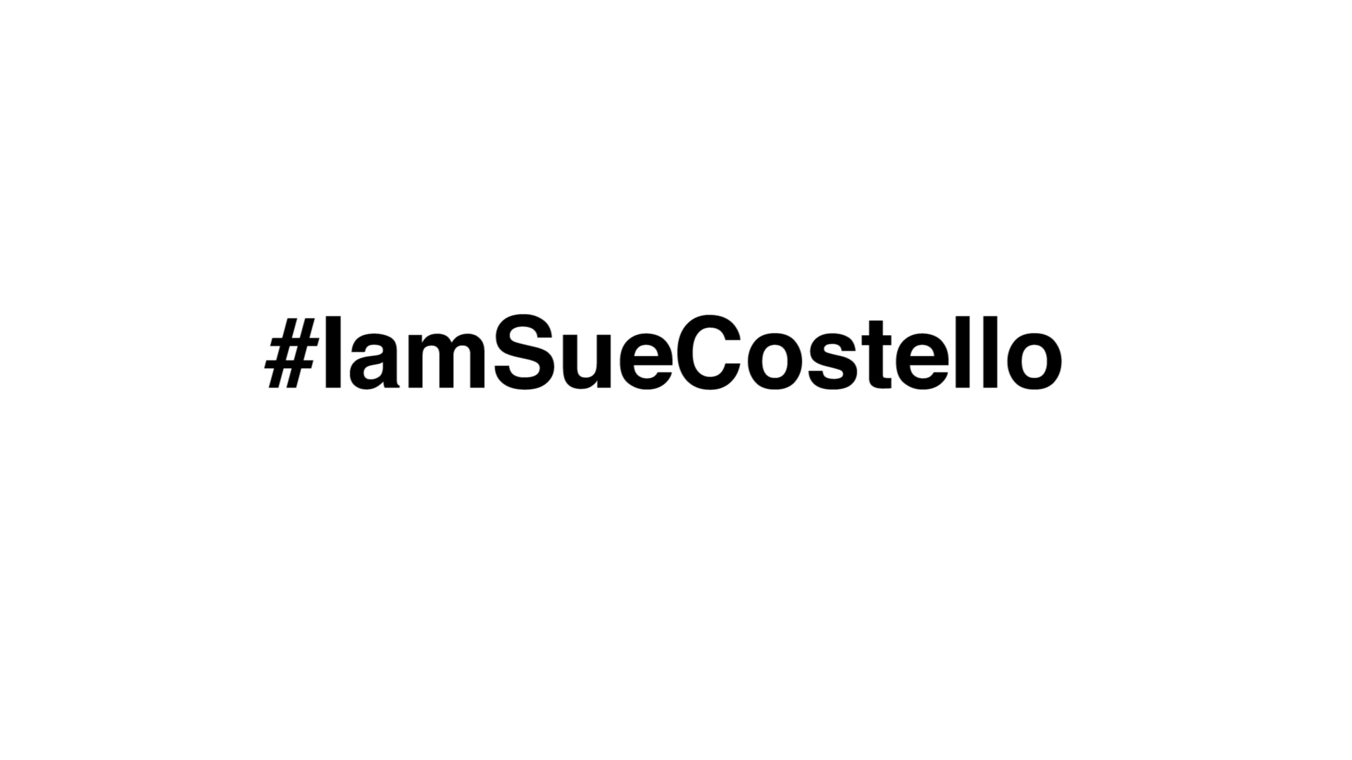 #IamSueCostello at Broadway Comedy Club on Wednesday, April 26th