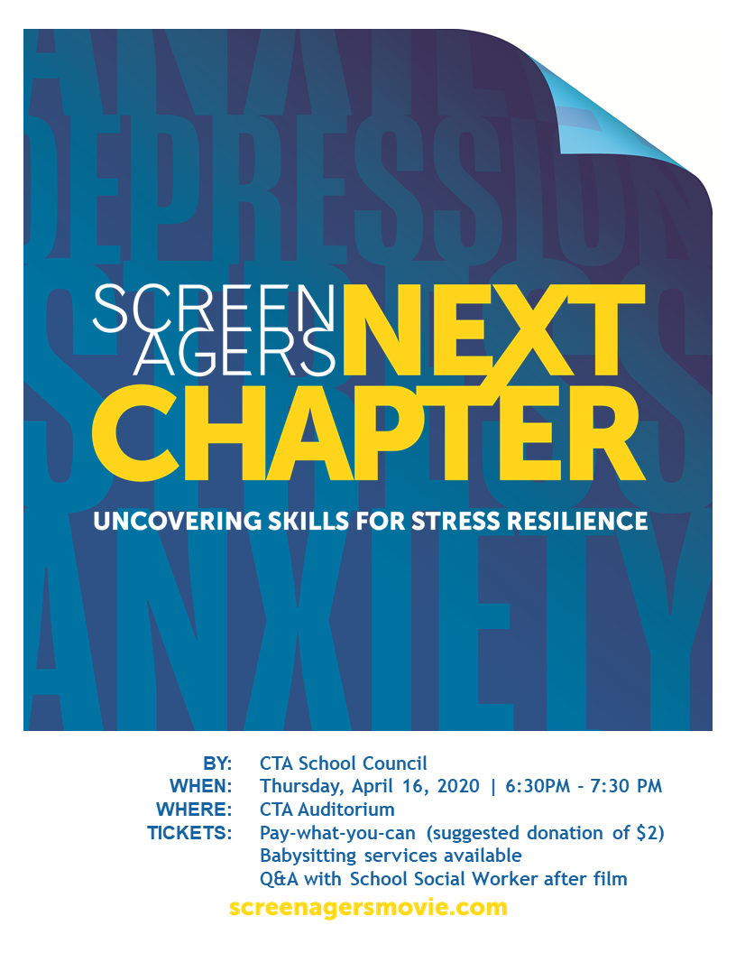 Screenagers Next Chapter Presented By Central Toronto Academy