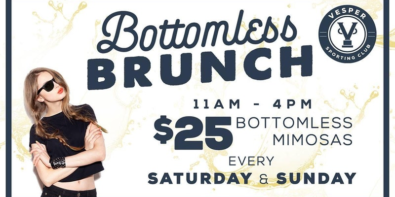 Bottomless Brunch (A Brunch Party Like No Other - $25 Bottomless Mimosas)