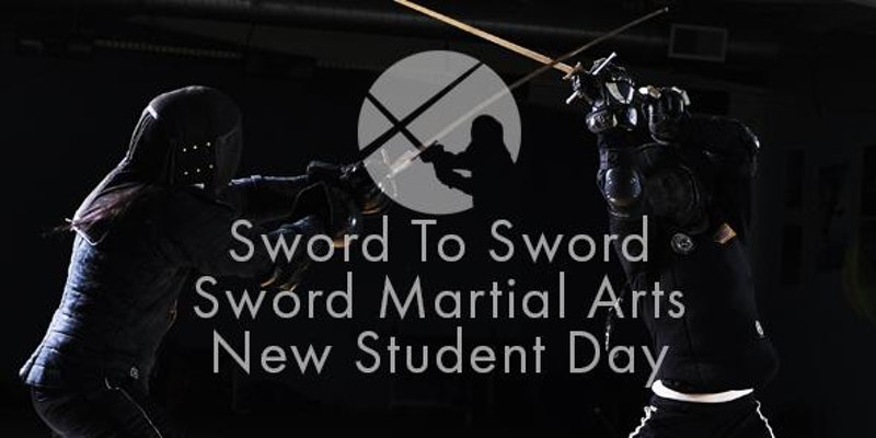 Sword-fighting class for beginners!