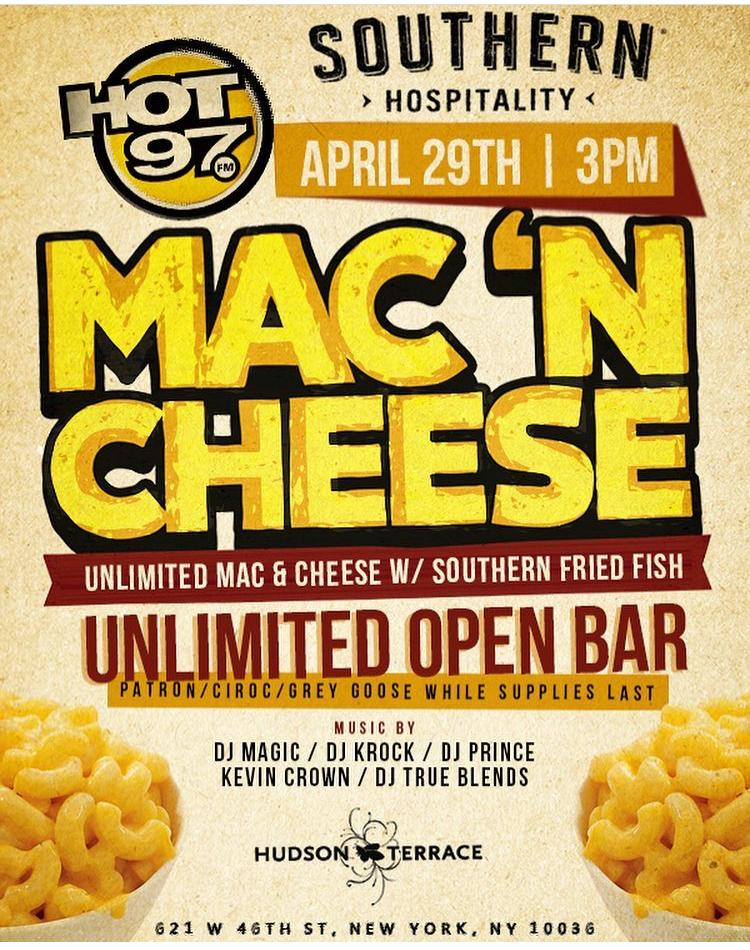 Southern Hospitality Unlimited Mac & Cheese with Southern Fried Fish
