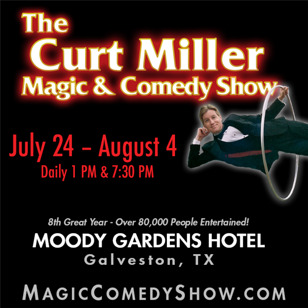 The Curt Miller Magic & Comedy Show 2016